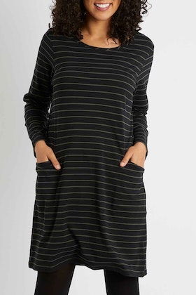 bird keepers The Stripe Essential Tunic Top