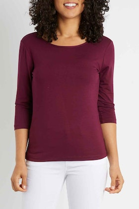 bird by design The Reversible Cowl Neck Top
