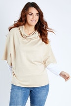 Betty Basics Luella Roll Neck Sweater