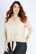 Betty Basics Lane Knot Sweater