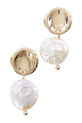GxG Collective Dipali Freshwater Pearl Earrings