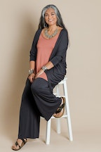 boho bird Falling For You Bamboo Cardi