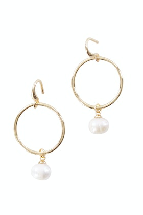Greenwood Designs Pearl Drop Earrings