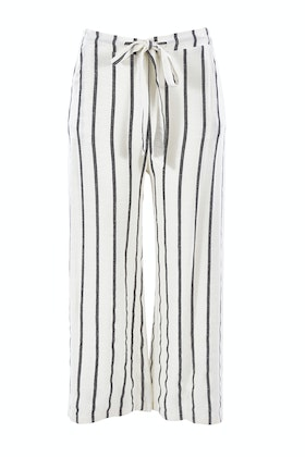 Clarity By Threadz Striped Wide Leg Pant