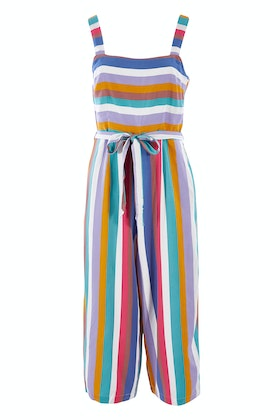 Sugarhill Brighton Millie Cruise Stripe Culotte Jumpsuit