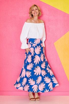 that bird label Rose Maxi Skirt