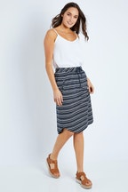 Elm Fundamental Isla Stripe Skirt