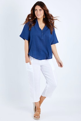 Natural for birds Cotton Relaxed Shirt