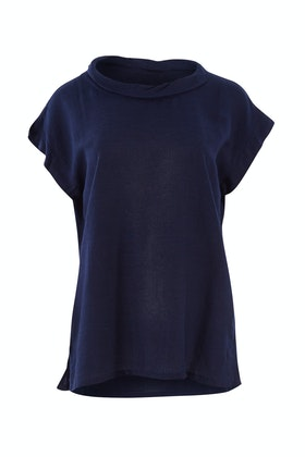 Orientique Linen Blend Top