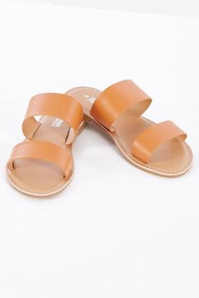 Human Premium Dakota Leather Slide