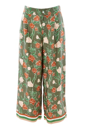 boho bird My Heart Is Full Flower Pants