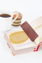 Ki & Co Australian Made Leather Bookmark