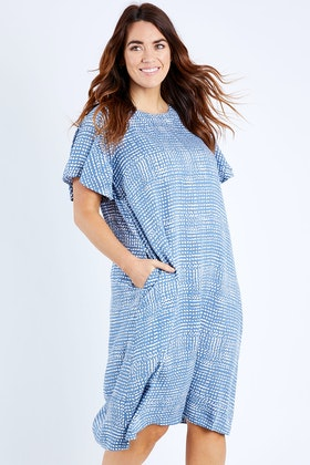 Portobello Soft Sleeve Shift Dress