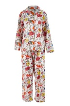 Linens Unlimited Faye Peacock Long PJ Set
