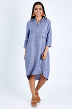 See Saw Collared Popover Dress